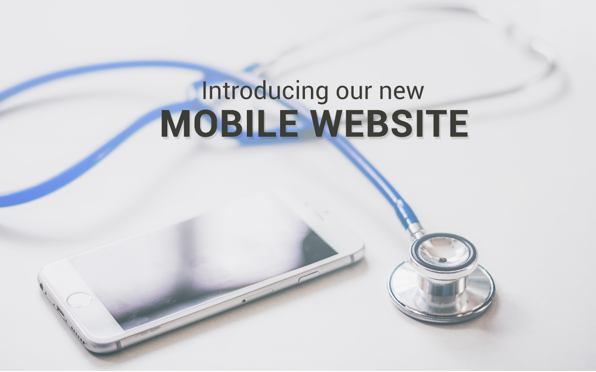 Welcome to our New Mobile Site